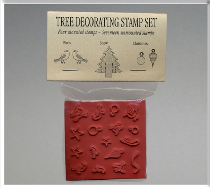 Tree Decor Stamp Set