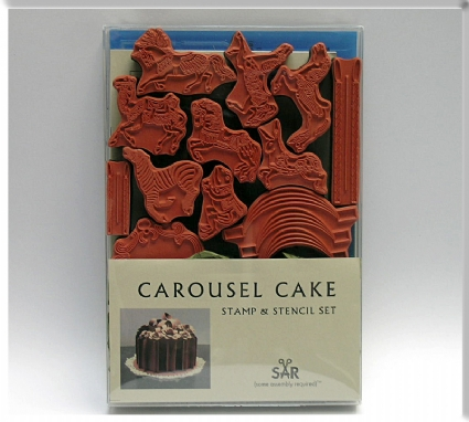Cake Stamp and Stencil Set