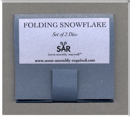 Folding Snowflake Die Set