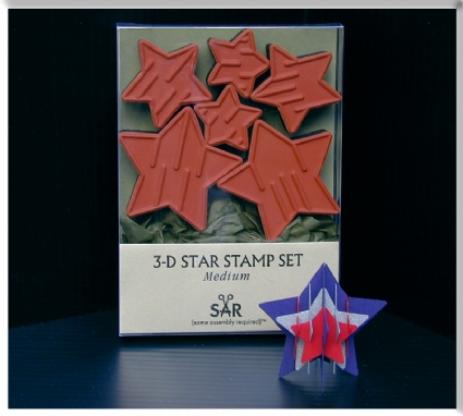 Medium Star Stamp Set (CP)