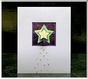 Shadowbox Star Card