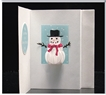 Small Snowman Shadowbox Card