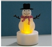 Small Snowman Tealight