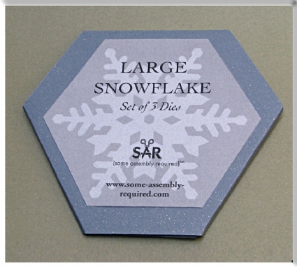 Large Snowflake Die Set